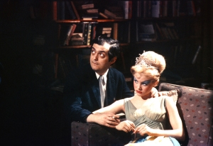 Stanley Kubricket Sue Lyon sur le tournage de Lolita (GB/USA1960-62)