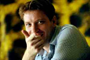 "Gareth Edwards, régisseur du film ""Monsters"", Piazza Grande, Locarno 2010"