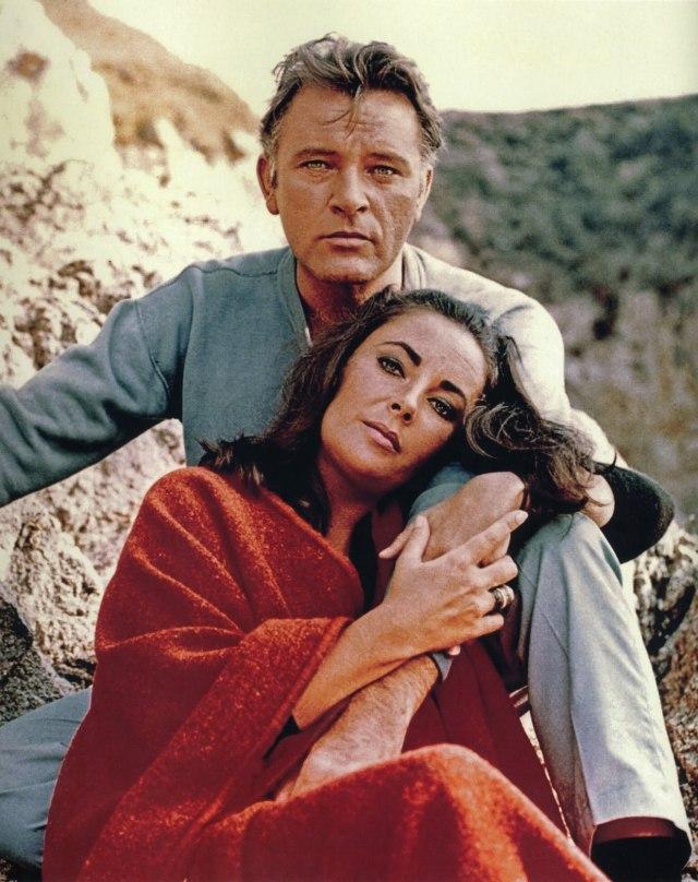 Avec Richard Burton dans Le Chevalier des sables