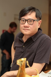 Eric Khoo, président du jury de la compétition internationale du Festival del film Locarno en 2010.