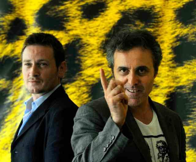 Benoît Magimel et Gilbert Melki à Locarno pour la première mondiale de L'Avocat (2010)