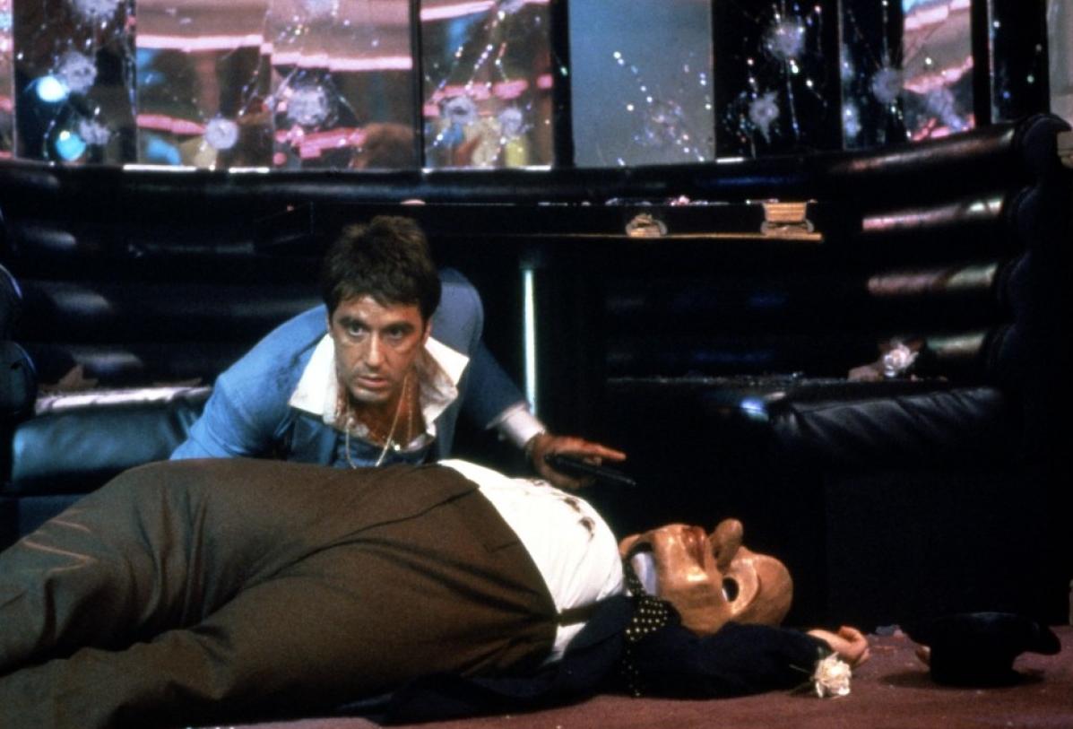Al Pacino dans Scarfac...