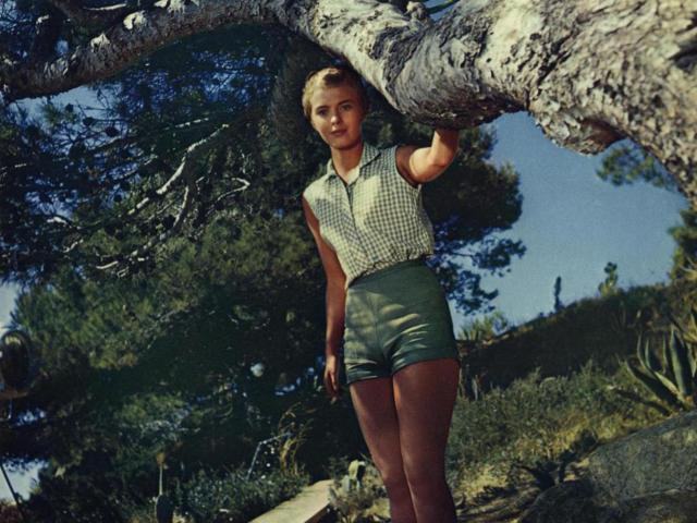 Jean Seberg dans Bonjour tristesse (1958)