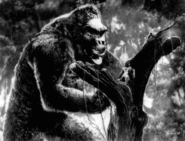 King Kong et Fay Wray dans King Kong (1933)
