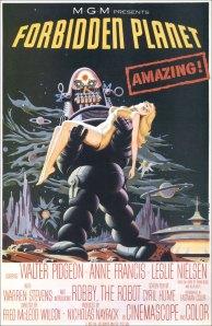 Affiche américaine de Planète interdite (1956)