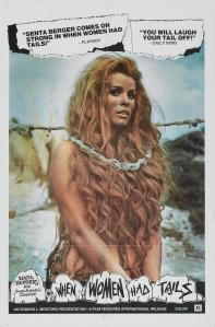 Affiche américaine de Quand les femmes avaient une queue (1970)