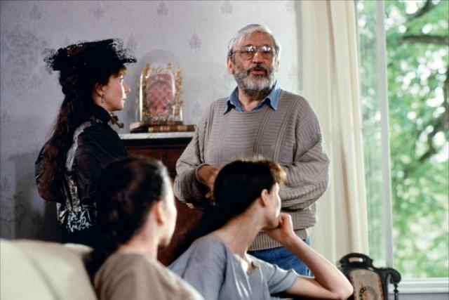 Maurice Pialat sur le tournage de Van Gogh (1991)