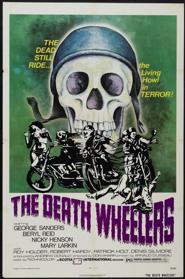 Affiche américaine de Psychomania (1973)