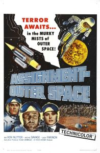 Affiche américaine de Space Men (1960)
