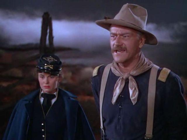 John Wayne dans La Charge héroïque (1949)