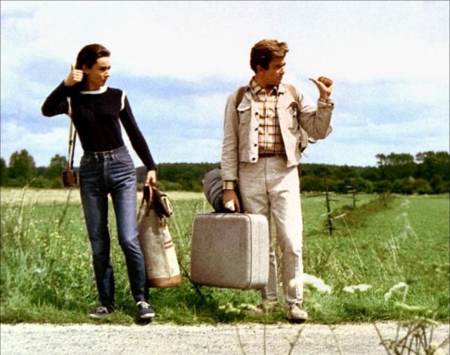 Audrey Hepburn et Albert Finney Voyage à deux (1967)