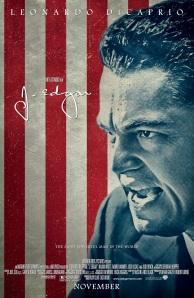 Affiche américaine de J. Edgar (2011)