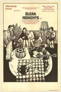 Affiche de Bleak Moments (1972)
