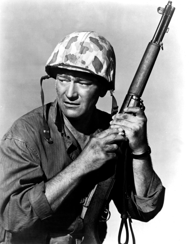 John Wayne dans Iwo Jima (1949)
