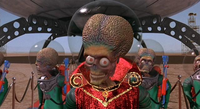 Mars attacks! de Tim Burton (1996)