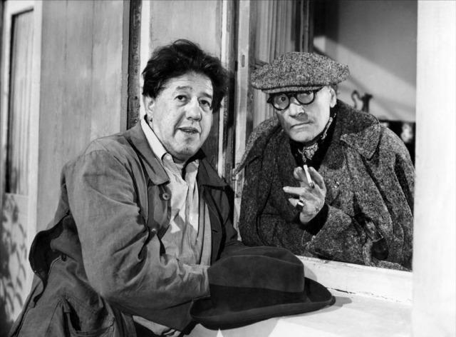 Michel Simon et Sacha Guitry, La Poison (1951)