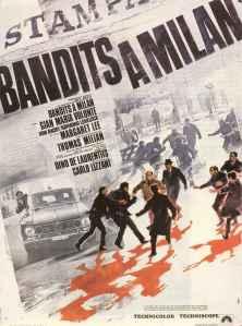 Affiche française de Bandits à Milan