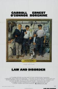 Affiche américaine de La Loi et la Pagaille