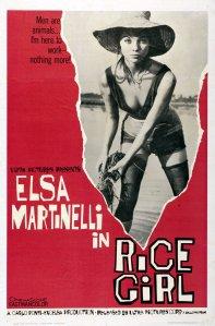 Affiche américaine de La Fille de la rizière