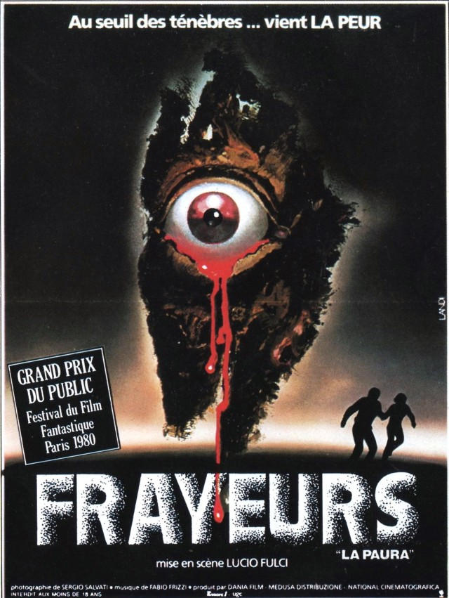 Affiche française de Frayeurs