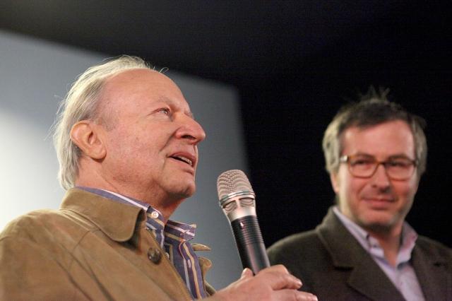 Ivan Passer à la projection de Cutter's Way au Festival de Fribourg, 29 mars 2012