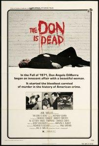 Affiche américaine de Don Angelo est mort (1973)