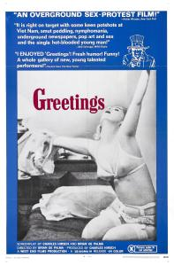 Affiche américaine de Greetings