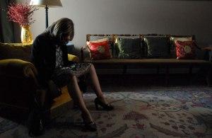 Singularités d'une jeune fille blonde