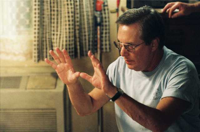 William Friedkin sur le tournage de Bug
