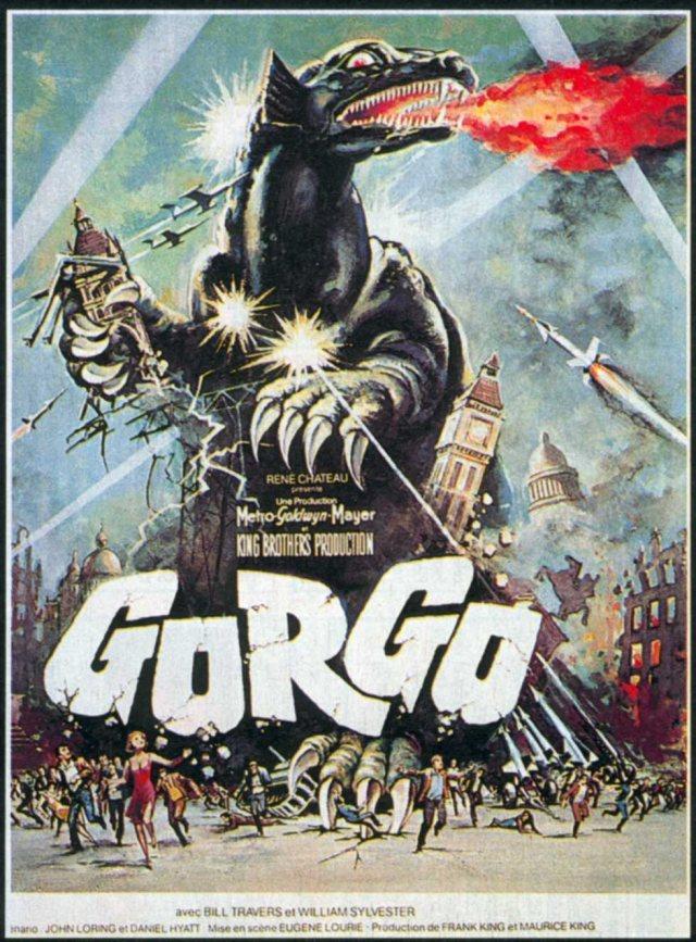 Affiche française de Gorgo