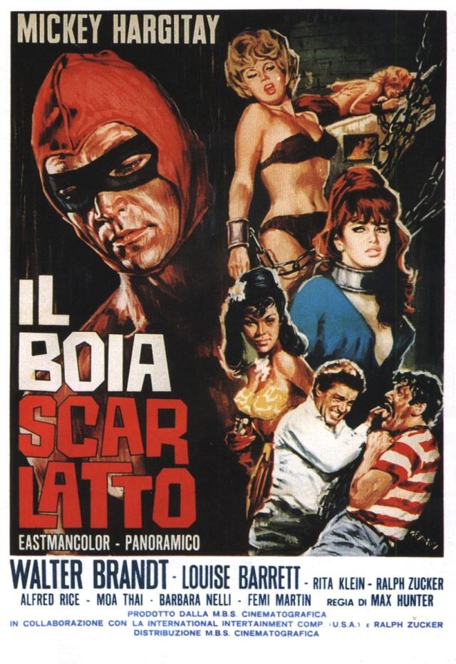 Affiche italienne de Vierges pour le bourreau