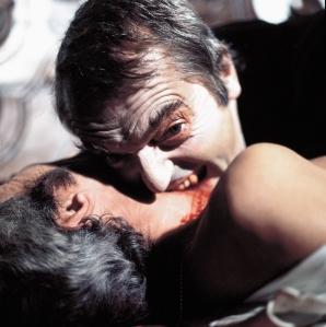 Howard Vernon dans Dracula prisonnier de Frankenstein de Franco (1972)
