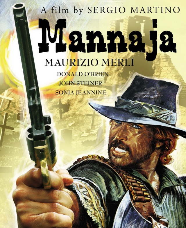 affiche de Mannaja, l'homme à la hache